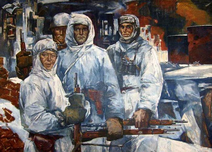 Малуев Б. Защитники Сталинграда